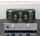 Top-level configuration EL34 tube amp headphone amplifier aluminum panel HIFI