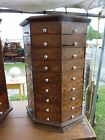 SCREW octagonal hardware store cabinet 72 drawer #2