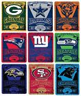 Brand New NFL Teams New Logo Large Soft Fleece Throw Blanket 50 X 60 Marque