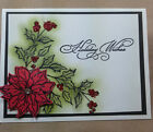 Stampin Up Poinsettia Card Kit makes 5 cards