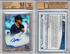 WIL MYERS RC AUTO 2013 TOPPS CHROME CAMO REFRACTOR #'d 15 BGS 9.5 10