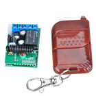 Safety Precautions 12V MINI RF Wireless Remote Control Switch Controller !