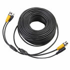 100ft CCTV BNC Male Video Power Cable DVR Surveillance Security Camera Wire Cord