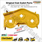 903 04328 Yellow Cub Cadet RZT 50 Deck Shell Replacement Original Cub Cadet