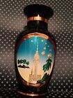 The Art of Chokin Vase State of Kuwait 24KT Gold Edged