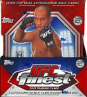 2012 Topps UFC Finest Factory Sealed 8 Box Hobby Case Rousey Tate ? 1 1 ? Gold?