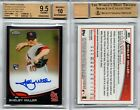 Shelby Miller RC AUTO 2013 TOPPS CHROME BLACK REFRACTOR #'d 75 100 BGS 9.5 10
