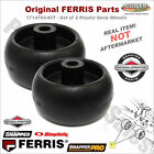 1714760 KIT 2 Deck Wheels Ferris Simplicity Snapper Pro 1500 Original Parts
