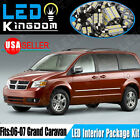 18Xenon White LED Lights Interior Package Deal for 2006-2007 Dodge Grand Caravan
