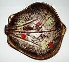 SCHEURICH BOWL ASHTRAY WEST GERMAN POTTERY FAT LAVA MID CENTURY MODERN RETRO 60s