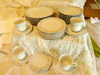 SANGO TIVOLI 8305 DINNERWARE CHINA SET 32 PIECES LOT PLATES CUPS SAUCERS DISHES