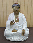 Hand Made Sitting Buddha Statue Chinese Porcelain Figure 10