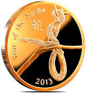 2013 YEAR OF THE SNAKE. 1 OUNCE / one OZ COPPER. China ' s American silver Eagle