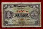 Portugal Angola 100 Escudos 1921 P-61 EXTREMELY RARE !! SEE SCAN ( WEST AFRICA )
