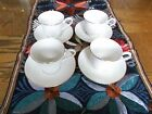 4 Lenox GOLDEN SAND DUNE Cups and Saucers : MINT!
