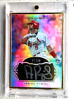 2011 TOPPS MARQUEE MUSEUM COLLECTION ALBERT PUJOLS GOLD AUTO 10 *FIRE*
