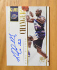 Karl Malone 2013-14 National Treasures Gold Game Changers On Card Auto #D 3 10