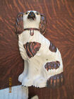 Antique Staffordshire Copper Dog   Great