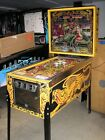 LOST WORLD Pinball by BALLY with 3D ILLUSION BACKGLASS - DINOSAUR FUN!
