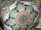 Cynthia Rowley Multi Colored Moroccan Medallion  6pc KING Cotton Comforter Set