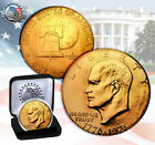 1976 EISENHOWER DOLLAR 24K GOLD PLATED COIN W/DISPLAY BOX *CHECK STORE 4MORE!!