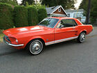 Ford  Mustang 3 days only 1967 Ford Mustang Little Red Pony Coupe 6cyl T Code 3spd Transmission 42k Miles