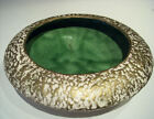 VINTAGE 1950'S RETRO MARCIA OF CALIFORNIA POTTERYCONSOLE MOTTLED  BOWLS SET OF 2