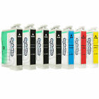 Remanufactured Ink Cartridges for Epson NX400 NX515:4 Black +1 of Each Color #69