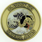 EOD Mobile Unit 5 Platoon 501 Sasebo Japan Navy Challenge Coin