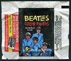 1964 Beatles Color Original Wrapper Topps Paul McCartney John Lennon Wax Pack #4