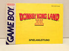 Donkey Kong Land III Nintendo Game Boy Book Instruction Only