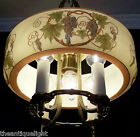 30's WINE-LOVERS VINTAGE CEILING LAMP LIGHT CHANDELIER  ( HIGH QUALITY )