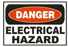 Danger Electrical Hazard Sticker Safety Sticker Sign D678 OSHA