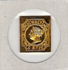PORTUGAL FIRST ISSUE (1853) REPLICA 24 KT IN GOLD     NICE