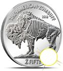 2018 SILVER OUNCE Buffalo Nickel Zombie One 1 oz.  Great add to American Eagle
