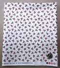 Fabric Heart & Soul Pink Hearts White Background 1 Yard Sandy Gervais Moda
