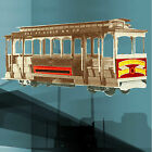 MODEL RAILROAD O HO GAUGE CABLE CAR FULL SIZE PRINTED DRAWINGS BUILD NOTES