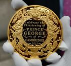 Prince George Christening 1oz pure 100 Mills .999 24k gold bullion Coin