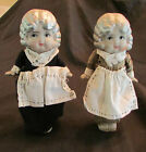 Charming Pair of Antique Bisque Made in Japan Dolls