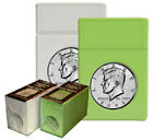 BCW - Display Slab with Foam Insert-Combo, Half Dollar - Lime (5pack)