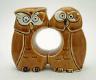 Vintage Owl Salt and Pepper Shaker - One Piece, Two in One