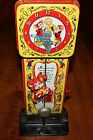 Vintage Mattel Tin Dickory Dock Musical Clock
