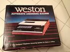 Weston Automatic Answering Machine Vintage Antique Retro Old. Brand new