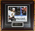 Zdeno Chara Boston Bruins Signed Autographed Right Back at Ya 8x10 Framed