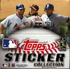 2011 Topps Baseball Sticker Collection Box