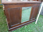 c1920 MAINE shoe store COUNTRY counter w MIRROR great for ISLAND 4' x 24