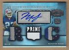 07 2007 Topps Triple Threads PLATINUM Marshawn Lynch 4C JSY Patch Auto RC 1 of 1