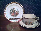 National Brotherhood of Potters Prim Rose China Cup Saucer Plate