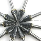 10 X 1 4Inch Head Tungsten Carbide Burr Drill Rotary 3x6mm Conical Pointed Nose