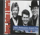 Burns Cotton & Morris 1997 Melbourne Grand prix sticker on front  cd  Like new